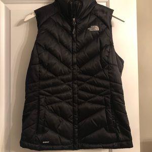 Women's North Face Vest Black Size Small